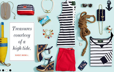 nautical accessories and nautical styles