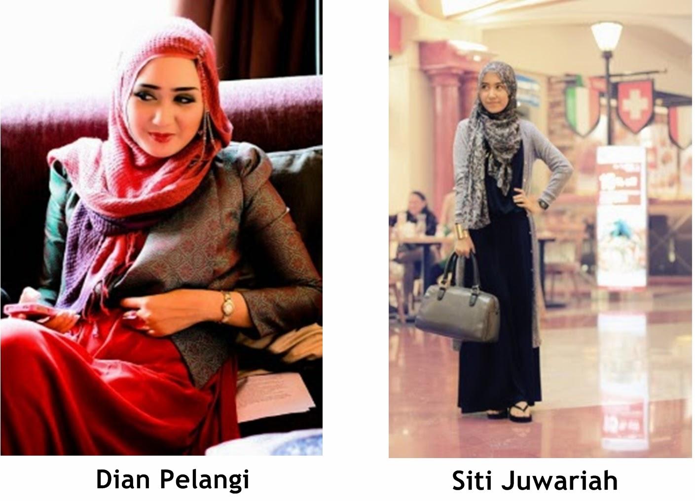Pelangi Hitam Hijab Di Mata Cowok