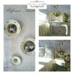 Uređenje doma: Romanticni Shabby Chic porculanski tanjuri