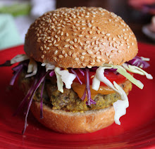 :: black bean burgers ::