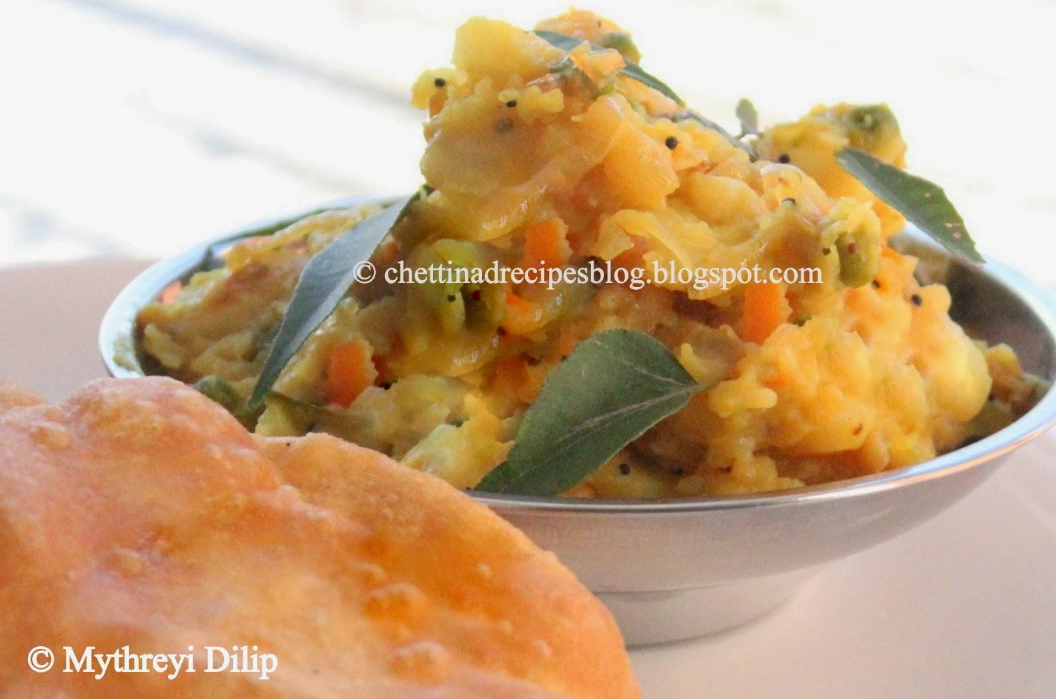 poori kizhangu recipe / poori masala recipe / potato masala for poori