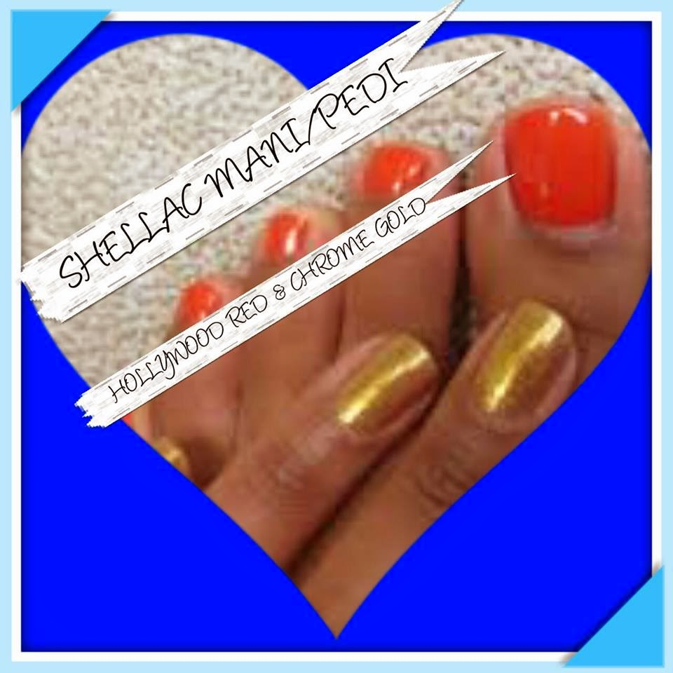 Neon Shellac abstract design manicure/pedicure combos acrylic sculpted  extensions layered custom color and some simple hand painted music