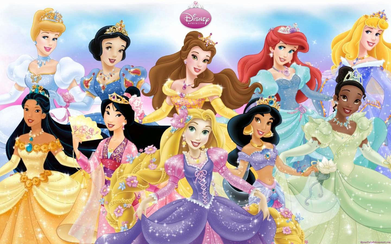Para imprimir dibujos princesas disney