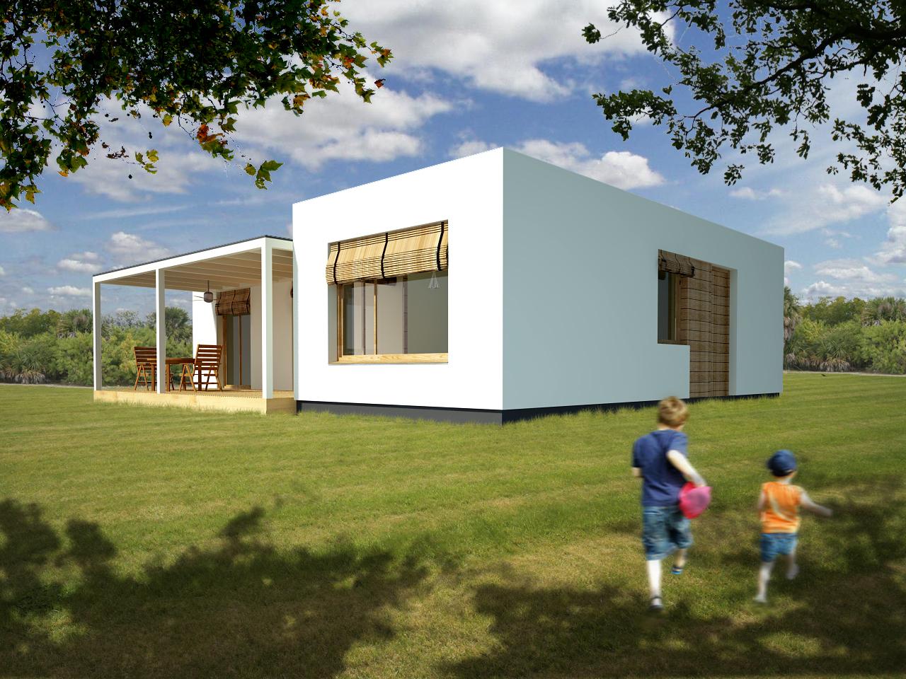 Casas modulares blochouse casa blochouse ibiza - Casas prefabricadas barcelona ...