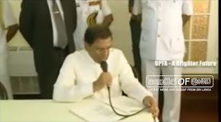 President Maithri Sings Songs