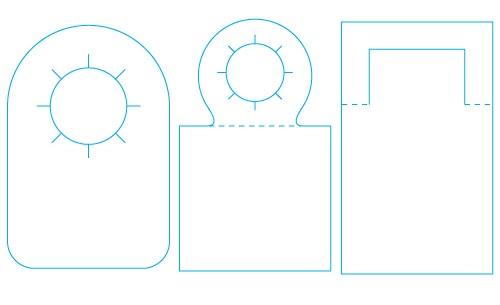 Mission designs neck hanger dielines maxwellsz