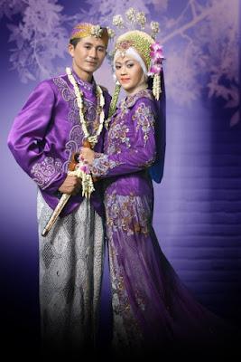 foto pengantin muslimadat sunda