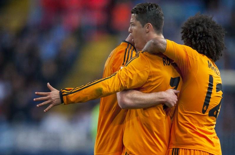 Cristiano Ronaldo (0-1) 15/3/2014
