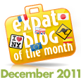 Blog of the Month-interview at expat-blog.com