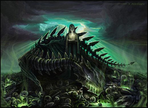 Necromancer por Nikt2