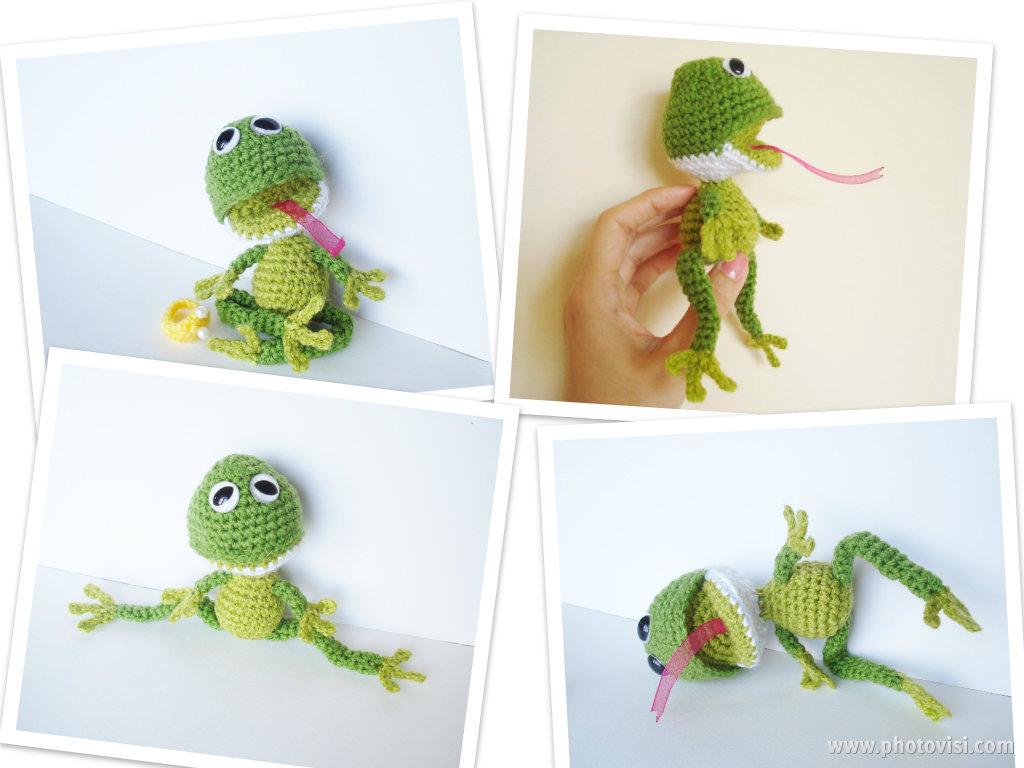 Amigurumi Frog Pattern : AllSoCute Amigurumis: Amigurumi Frog Pattern, Crochet Frog ...