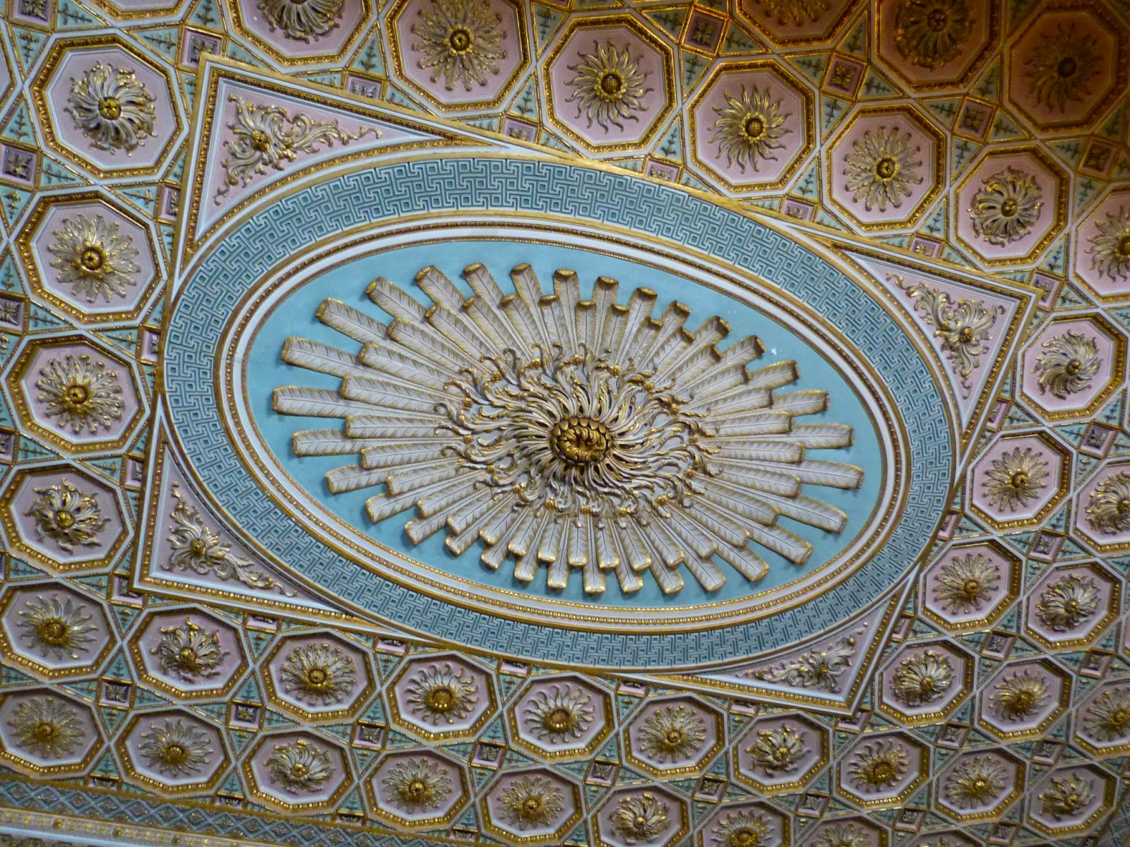 The ceiling in the Drawing Room, Osterley