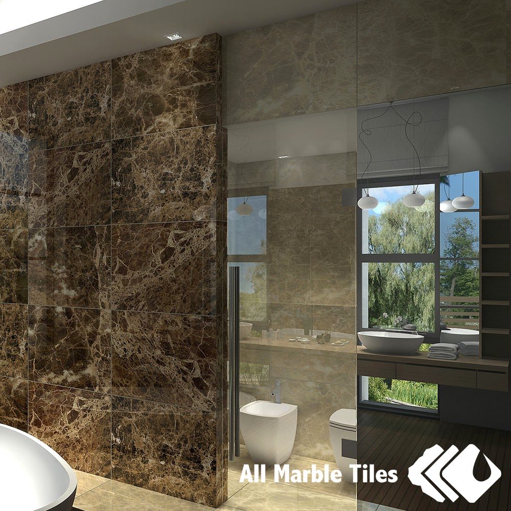 If You Are Considering Dark Emperador Tile A Good Pick Would Be The Slab Design With Distinct Veins Running Through Surface