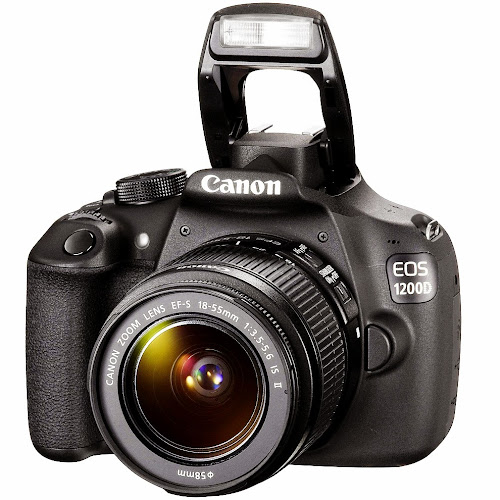 Canon EOS 1200D. Digitalizer