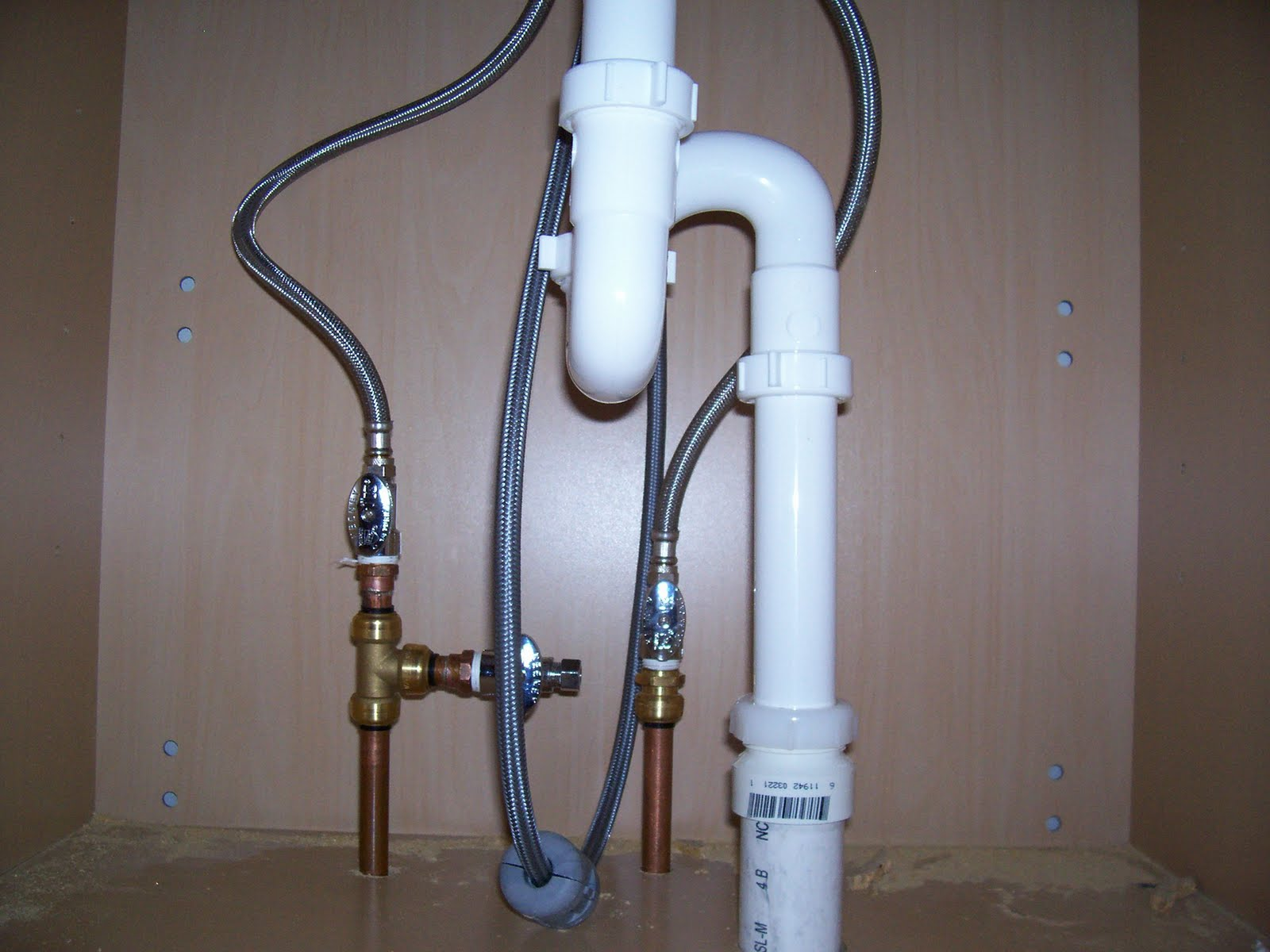88caprice plumbing pipes and pops helps for Running copper water lines