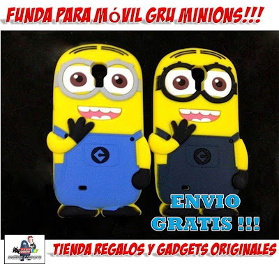 funda movil GRU minions