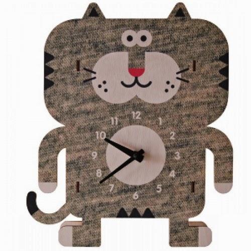 reloj-infantil-forma-gato