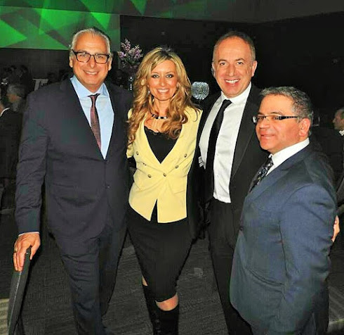 John Lettieri (Hero Certified Burgers), Mayor Maurizio Bevilacqua & MP Francesco Sorbara