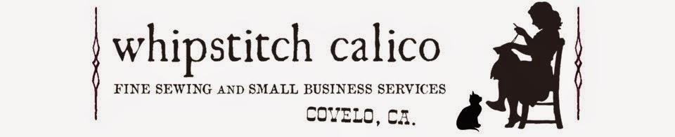 whipstitch calico