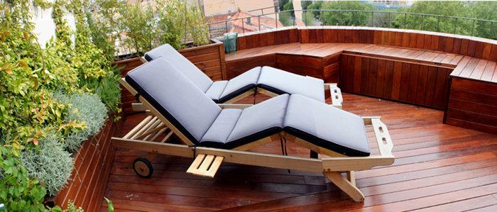 Jardines peque os en terrazas y ticos jardinosfera for Bancos de terraza y jardin