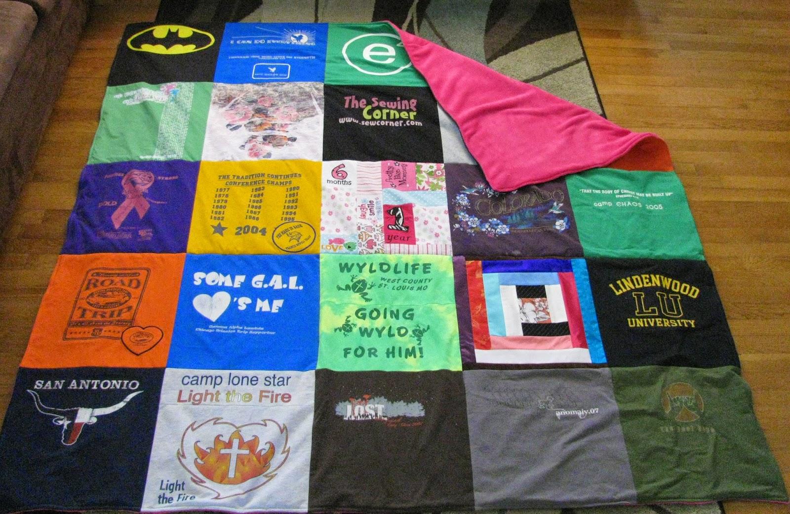 Échantillons Gratuits de t-shirts Recyclés de Express t-shirt quilts