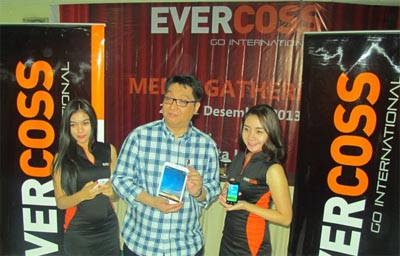 EVERCOSS Akan Rilis 'Ponsel Android Sejuta Umat' Awal 2014