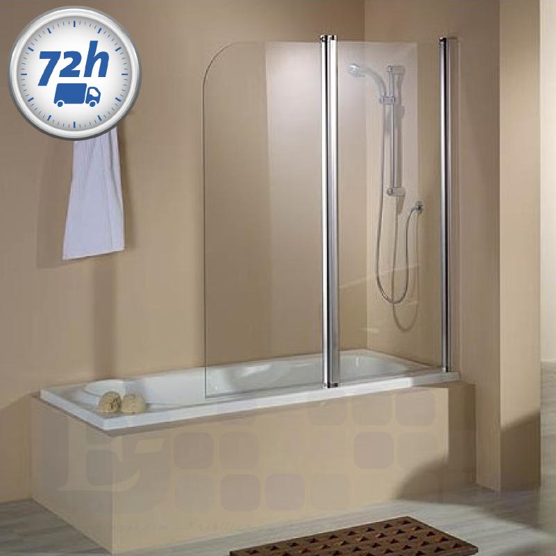 El blog del baño: 4 mamparas de hoja baratas para bañeras