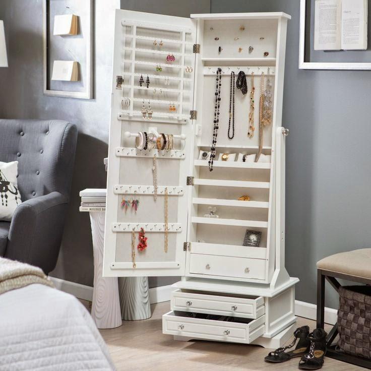 Organizablog ideas geniales para aprovechar el espacio en casa - Espejo con almacenaje ...