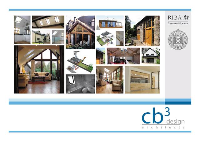 cb3 design architects postcard