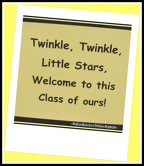 photo of: Back-to-School Bulletin Board: Twinkle, Twinkle Little Star