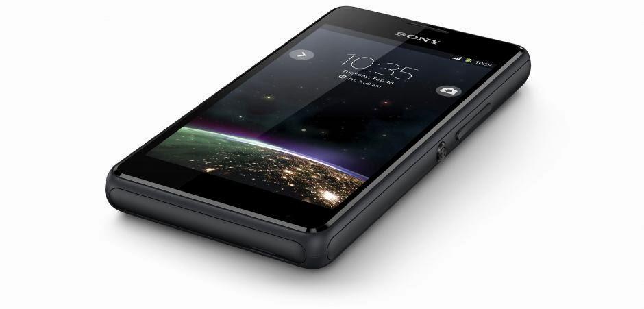 Fitur dan Spesifikasi Sony Xperia E1