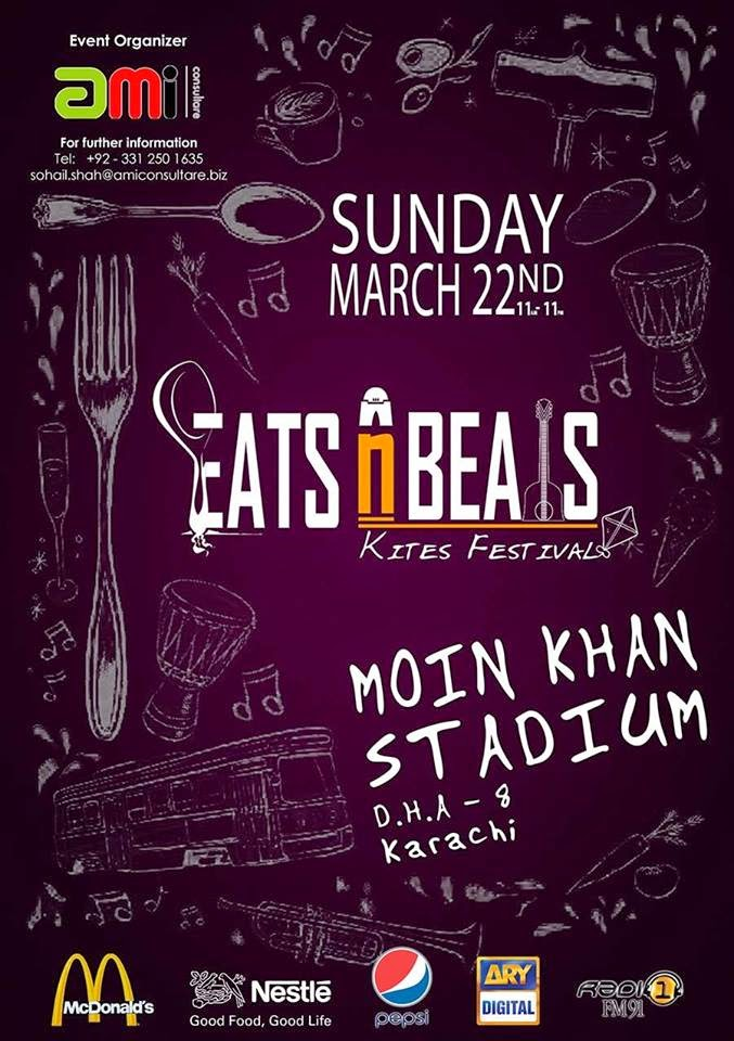 eats and beats family festival karachi