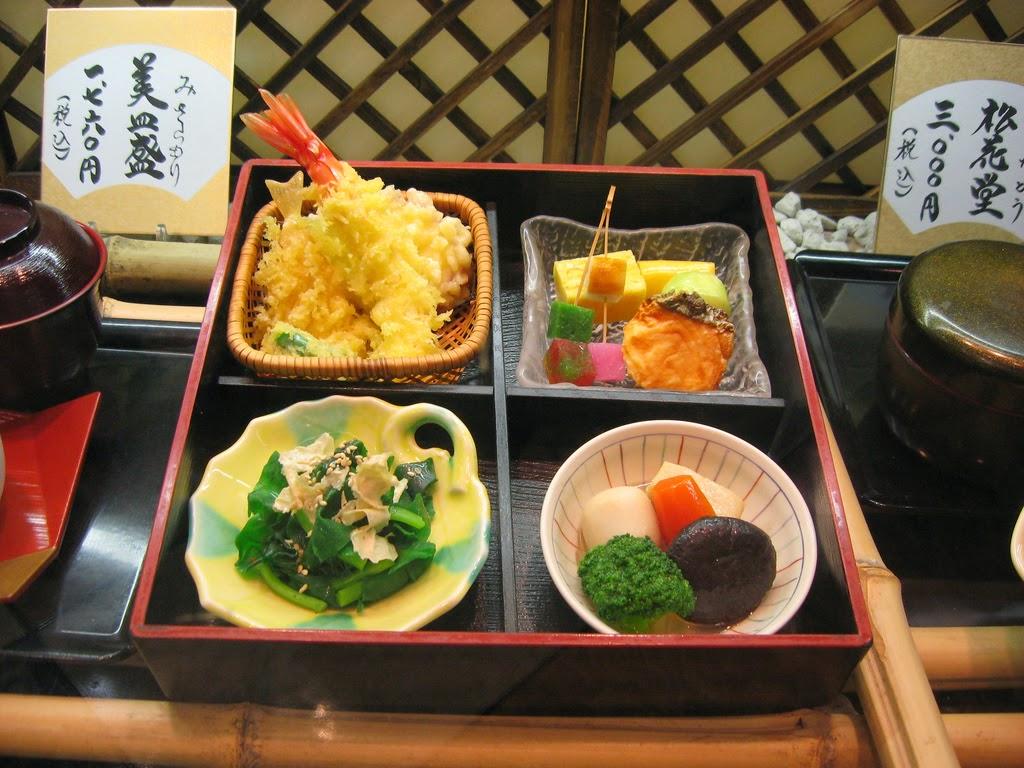 Comida japonesa de cera