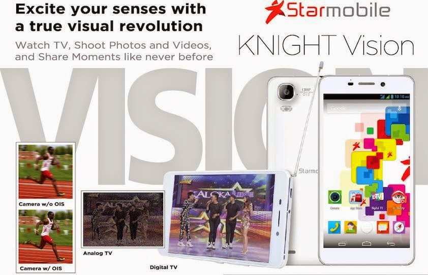 Starmobile Announced Knight Vision, Android Phablet with Built-in Digital TV Receiver