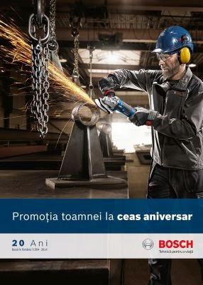 Campania Promotia toamnei la ceas aniversar