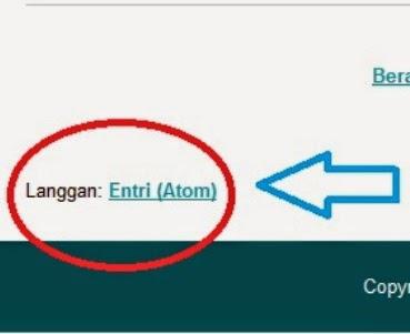 langganan entri atom blog