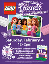 LEGO Friends Launch n' Build Event