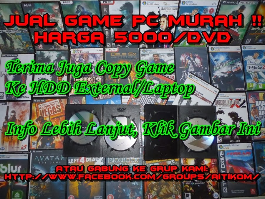 JUAL GAME PC MURAH