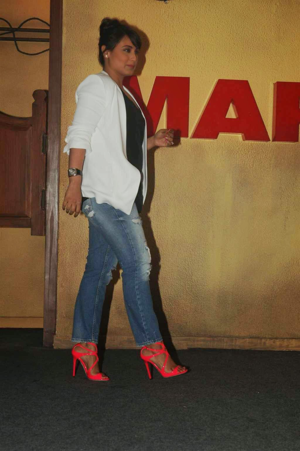 Rani Mukerji in Pink Jimmy Choo Sandals