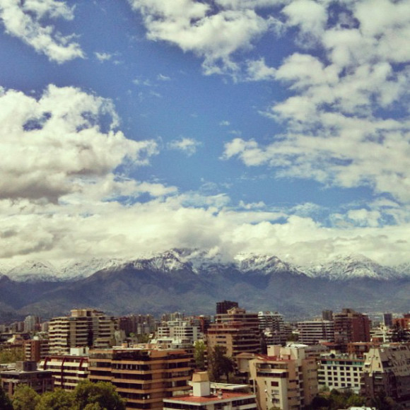 clouds, Santiago, Chile, iPhoneography Selection January 7 2013,pablolarah,Pablo Lara H Blog
