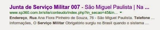 PROCESSO 0041957432012-007 JUNTA MILITAR 007 SÃO MIGUEL PAULISTA.