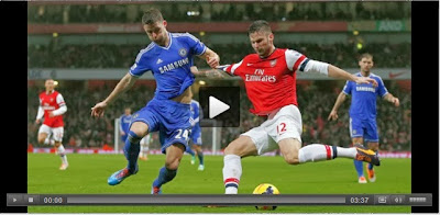 Cuplikan video Arsenal vs Chelsea dini hari