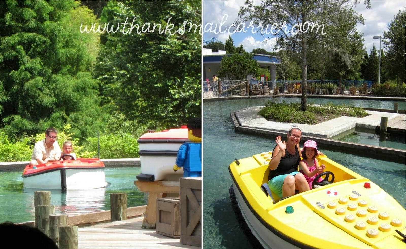 Legoland boats