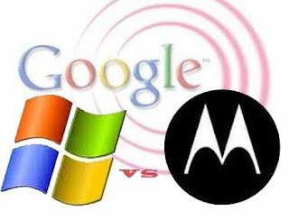 Microsoft accuse moto, google