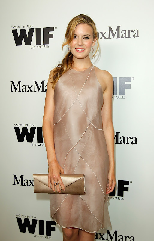 Maggie Grace  Max Mara Women In Film red carpet image