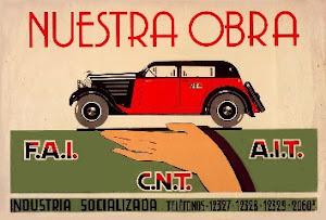 EXPOSICIÓN; EL TAXI DE BARCELONA DURANTE LA GUERRA CIVIL (1936-1939)