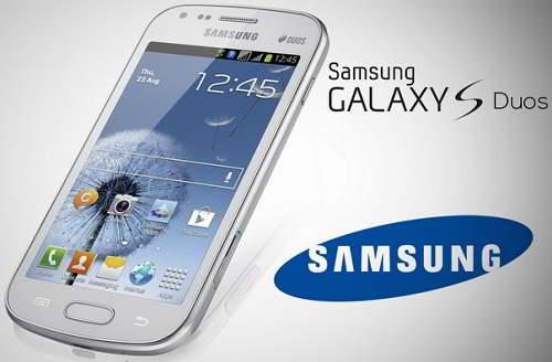 Samsung oficializou Hoje (20/08/2012) o novo Samsung Galaxy S Duos ...