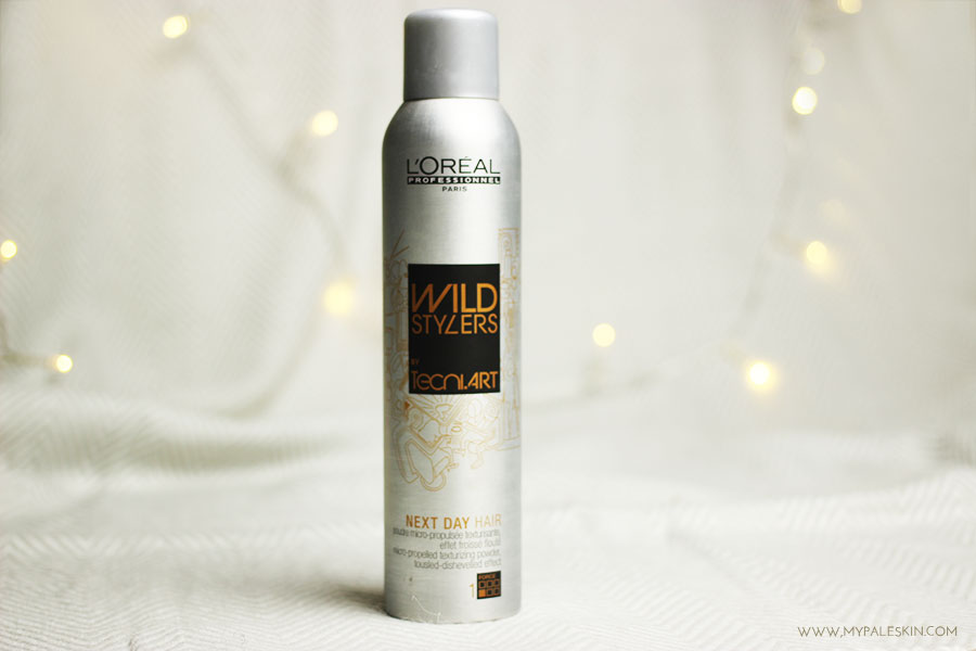 L'oreal, wild stylers, texture, spray, review, pale skin, my pale skin, em ford
