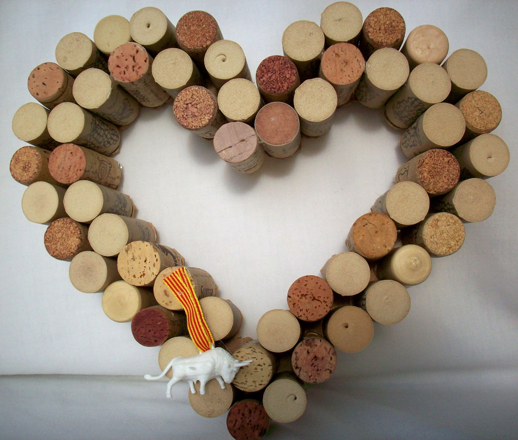 Crafts made with corks - Crafts Made Out Of Wine Corks Wine Cork Craft