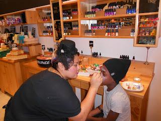 DSCN1372 LUSH Fresh Handmade Cosmetics is Defining FUN